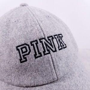 f8214290 PINK Victoria's Secret Accessories - PINK Victoria's Secret Gray Wool + Dog  Hat
